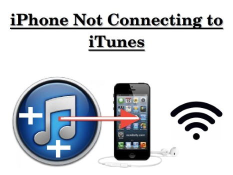 Why is my iphone not connecting to iTunes